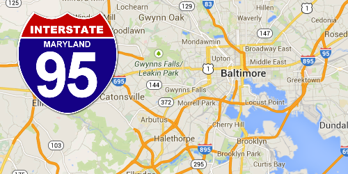 Maryland Construction | I-95 Exit Guide