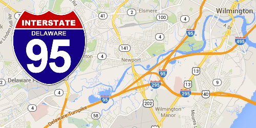 Delaware Construction | I-95 Exit Guide