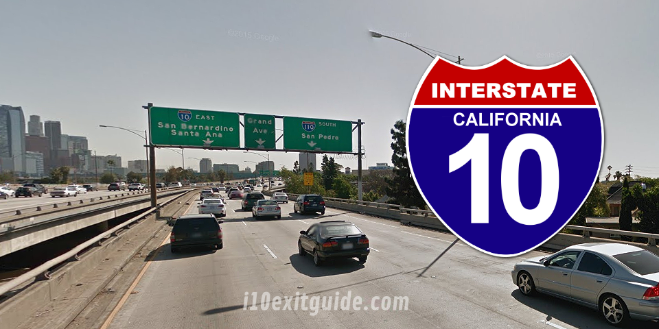 I-10 California Construction | I-10 Exit Guide