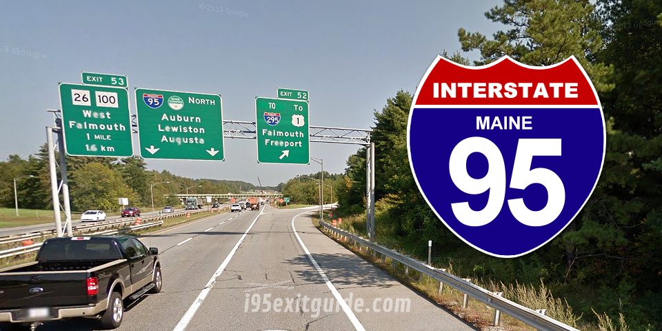 Maine I-95 Exit 1 Northbound Off Ramp to be Closed Temporarily on December 28, 2015