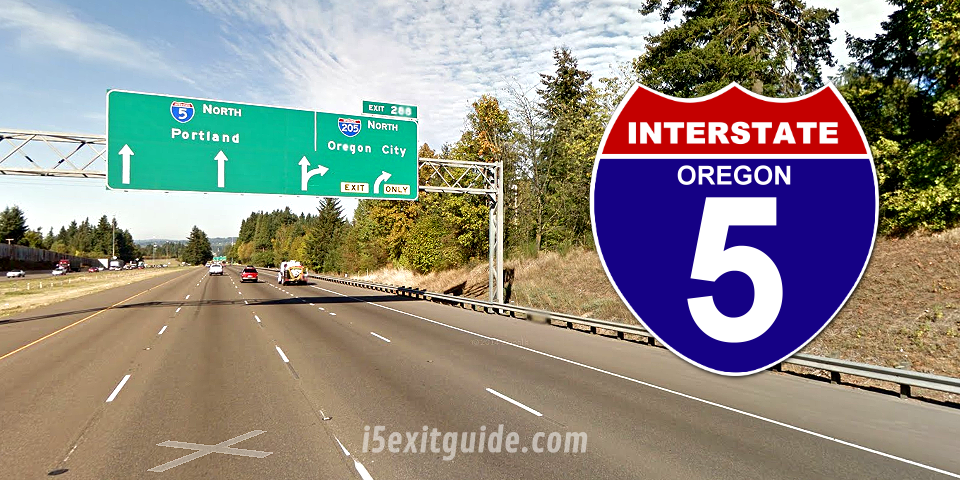 Traffic Delays For Construction Work on I-5 in Oregon